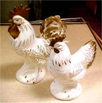 Lefton Rooster and Hen
