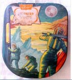 British Space Motif Candy Tin