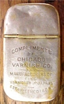 Chicago Varnish Co Match Safe